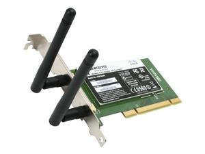 کارت شبکه لینک سیس WMP600N Wireless-N PCI Adapter with Dual Band